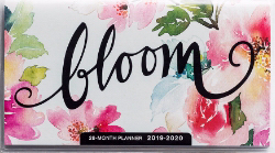 2019/2020 Daily Planner: Bloom (28 month) PB - DaySpring