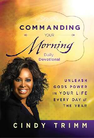 Commanding Your Morning Daily Devotional HB - Cindy Trimm