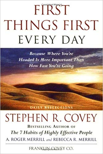 First Things First Every Day PB - Stephen R Covey