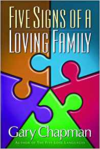 Five Signs Of A Loving Family PB - Gary Chapman
