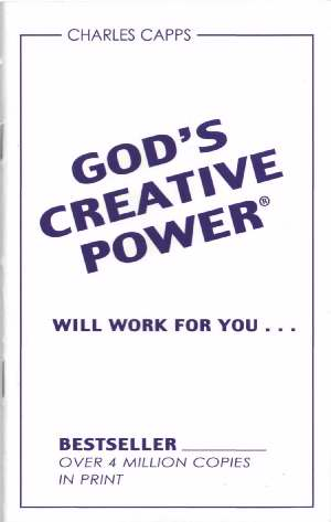 God's Creative Power Will Work for You PB - Charles Capps