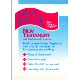 KJV Baby's First Gift New Testament with Psalms and Proverbs I/L Blue - World