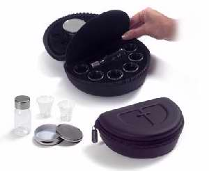 Remembranceware Deluxe Portable Communion Set (6 Cups) - Broadman Church Supplies