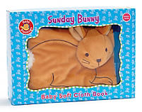Baby Blessings: Sunday Bunny Soft Cloth Book - Standard Publishing
