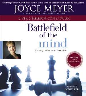 Battlefield of the Mind Audiobook CD - Joyce Meyer