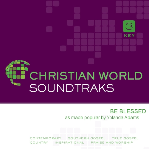 Be Blessed B/Trax CD - Yolanda Adams