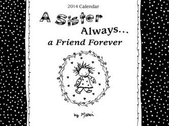 2014 Calendar: A Sister Always - Blue Mountain Arts