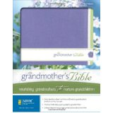 NIV Grandmother's Bible Violet/White DuoTone - Zondervan