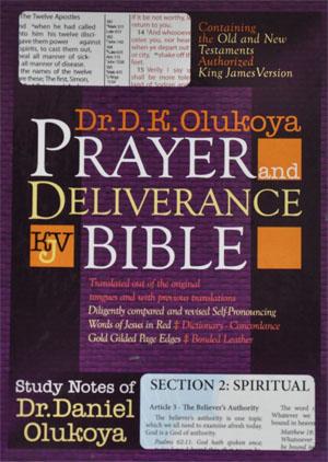 KJV Prayer And Deliverance Bible Compact Ed Burg - D K Olukoya