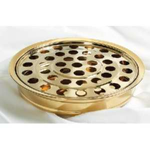Communion Tray & Disc Brasstone - Broadman & Holman