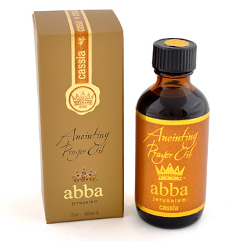 Cassia Anointing Prayer Oil 2oz - Abba Oils Ltd