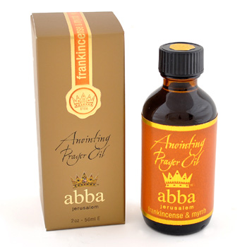 Frankincense Anointing Prayer Oil 2oz - Abba Oils Ltd
