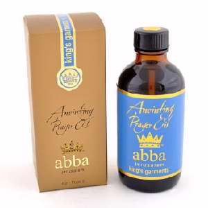 King's Garment Anointing Prayer Oil 4oz - Abba Oils Ltd