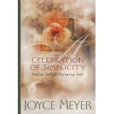 A Celebration of Simplicity HB - Joyce Meyer