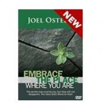 Embrace The Place Where You Are (DVD) - Joel Osteen