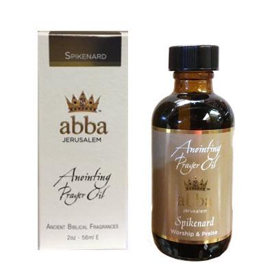 Spikenard Anointing Prayer Oil 2oz - Abba Oils Ltd ...