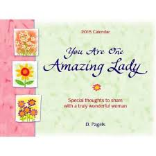 2016 Calendar: You Are One Amazing Lady – Blue Mountain Arts