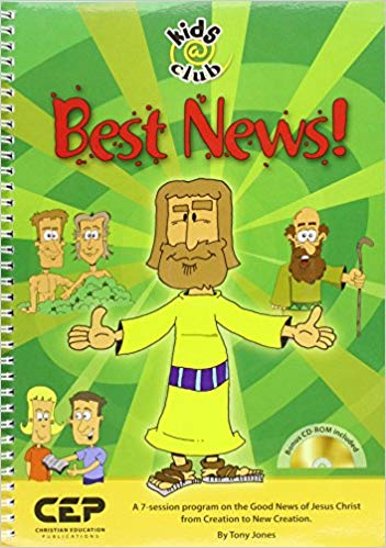 Best News (Kids@club) PB + CD Rom - Tony Jones