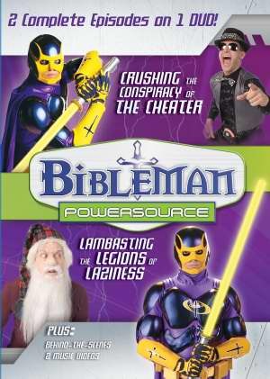 BibleMan Powersource Vol 9 (2-In-1) DVD - Tommy Nelson