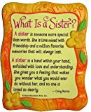 What Is A Sister? Sculpted Resin Magnet (MR905) - Blue Mountain Arts