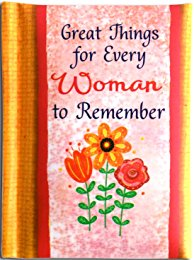 Great Things for Every Woman To Remember Little Keepsake Book (LKB122) HB - Blue Mountain Arts