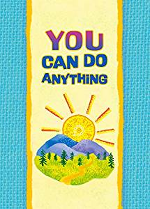 You Can Do Anything Little Keepsake Book (LKB134) HB - Blue Mountain Arts