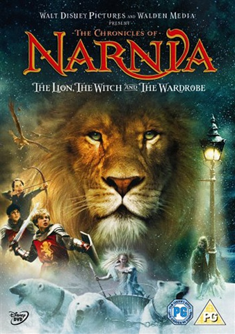 The Chronicles of Narnia - The Lion, The Witch and The Wardrobe DVD - C S Lewis