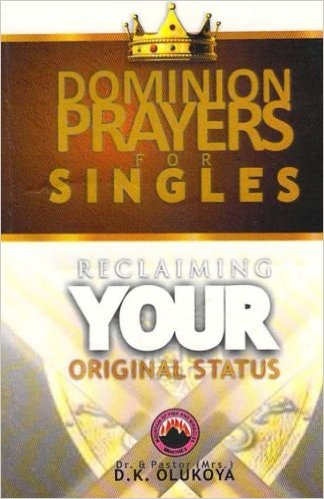 Dominion Prayers For Singles PB - D K Olukoya