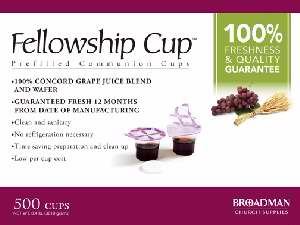 Fellowship Cup (500) - Broadman & Holman