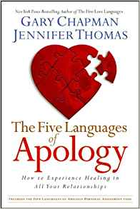 The Five Languages Of Apology PB - Gary Chapman/Jennifer Thomas