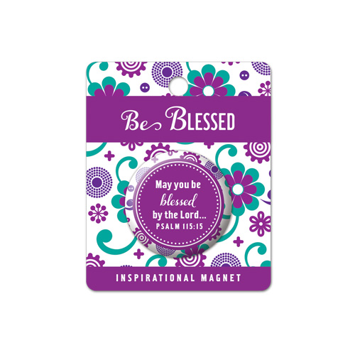 Fridge Magnet: Be Blessed - Lighthouse Christian Products Co