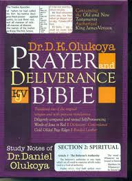 KJV Prayer And Deliverance Bible Compact Ed Burg - D K Olukoya
