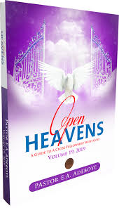 Open Heavens Volume 19, 2019 PB - E A Adeboye