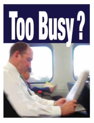 Tract: Too Busy [100 Pack] PB - Victory Gospel Tracts