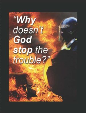 Tract: Why Doesn't God Stop The Trouble [100 Pack] PB - Victory Gospel Tracts
