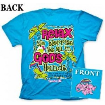T-Shirt: Relax SMALL - Cherished Girl